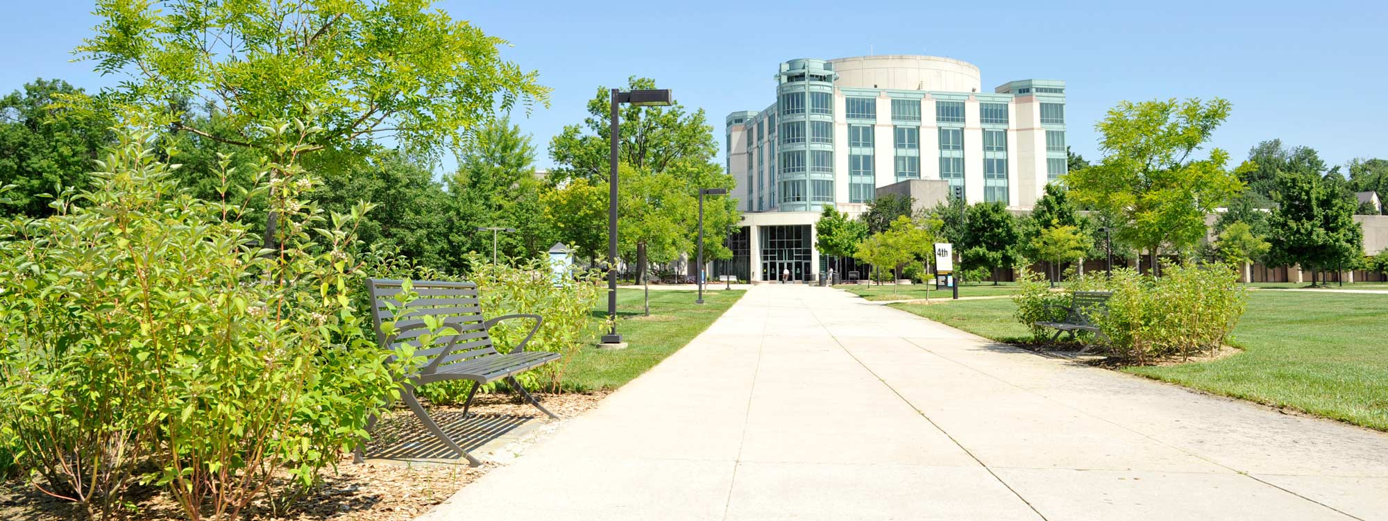 Image of University of Maryland Baltimore County campus.