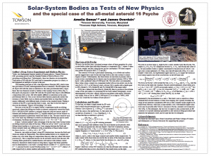 Psyche poster from 231st AAS meeting.