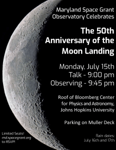 Moon Landing Celebration July 15, 2019