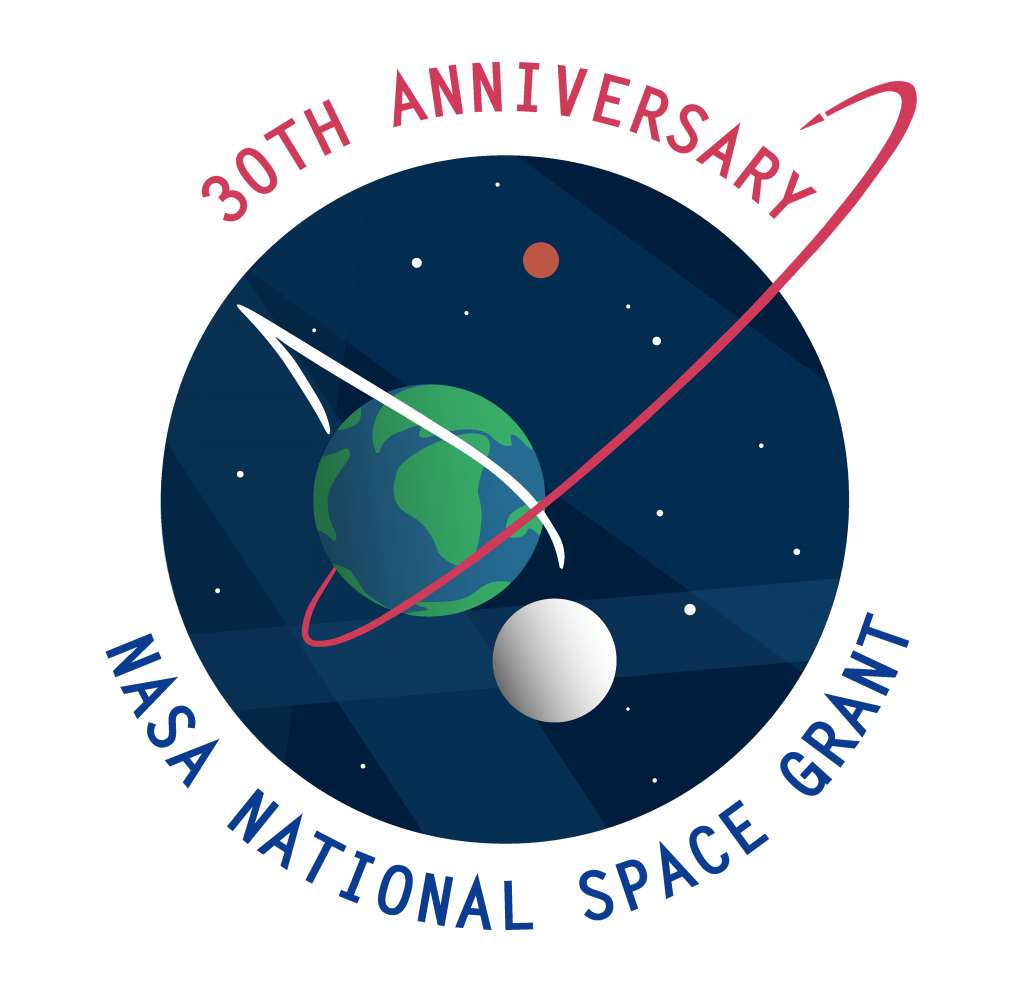National Space Grant 30th Anniversary Logo